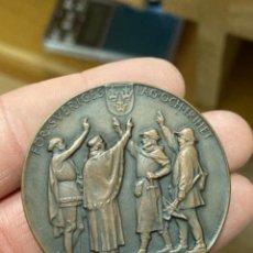 Medallas históricas: ANTIGUA MEDALLA SUECA A CLASIFICAR. Lote 276793573