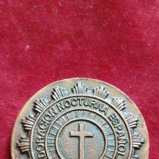 Medallas históricas: MEDALLA CENTENARIO ADORADOR NOCTURNO CIUDAD REAL 1997. Lote 277133683