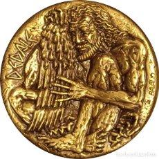 Medallas históricas: SUECIA. MEDALLA PREMIO NOBEL DE FÍSICA 1.977. BRONCE. Lote 277295623