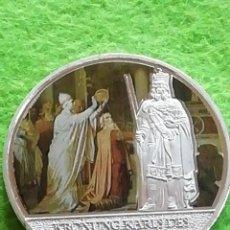Medallas históricas: MONEDA MEDALLA..ALEMANIA 1000 AÑOS DE HISTORIA ALEMANIA. NO FÉRREA. PRECIOSA. ENCAPSULADA.. Lote 280844573