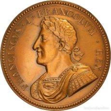 Medallas históricas: [#181368] FRANCIA, MEDALLA, FRANÇOIS IER, HISTORY, RESTRIKE, SC, BRONCE. Lote 289210548