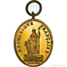 Medallas históricas: [#181356] FRANCIA, MEDALLA, CONSTITUTION, ACTION DE LA LOI, TRIBUNAL DE PREMIÈRE. Lote 289211803