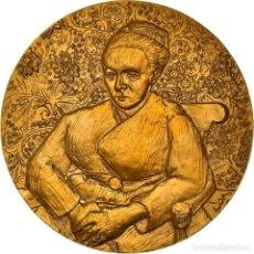 Medallas históricas: [#181317] FRANCIA, MEDALLA, PEINTURE, VAN GOGH, LA BERCEUSE, ARTS & CULTURE, FDC, BRONCE. Lote 289212363