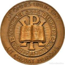 Medallas históricas: [#181339] FRANCIA, MEDALLA, PARIS, UT OMNES UNUM SINT, JOH XVII, RELIGIONS & BELIEFS. Lote 289212553