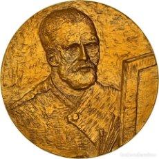 Medallas históricas: [#181311] FRANCIA, MEDALLA, PEINTURE, VAN GOGH, AUTO-PORTRAIT AU CHEVALET, ARTS & CULTURE. Lote 289212623