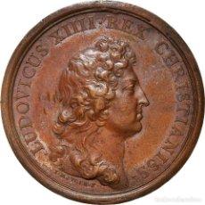 Medallas históricas: [#181308] FRANCIA, MEDALLA, LOUIS XIV, ETABLISSEMENT DE L'ACADÉMIE DES SCIENCES, 1666. Lote 289212763
