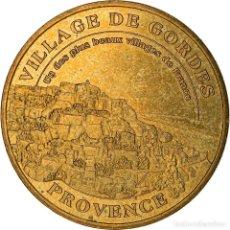 Medallas históricas: [#887310] FRANCIA, JETON, 84/ VILLAGE DE GORDES, 2004, MBC+, ALUMINIO Y CUPRONÍQUEL. Lote 289212828
