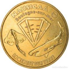 Medallas históricas: [#887307] FRANCIA, JETON, BOULOGNE-SUR MER - NAUSICAA N° 1, 2009, EBC, ALUMINIO Y. Lote 289212873