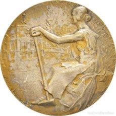 Medallas históricas: [#181375] FRANCIA, MEDALLA, FÊTES LAÏQUES DE LA JEUNESSE, LEVALLOIS-PERRET, 1933. Lote 289213098