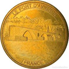 Medallas históricas: [#887306] FRANCIA, JETON, AVIGNON - LE PONT D'AVIGNON, MBC+, ALUMINIO Y CUPRONÍQUEL. Lote 289213938