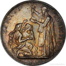 Medallas históricas: [#181207] FRANCIA, MEDALLA, MARIAGE CHRÉTIEN, RELIGIONS & BELIEFS, SC, PLATA. Lote 289228708