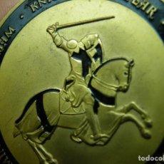 Medallas históricas: MEDALLA TEMPLARIA-45 MM.(ELCOFREDELABUELO). Lote 292090093