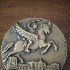 Medallas históricas: MEDALLA VASCO BERARDO. FIGUERA DA FOZ. 14 DE JULIO. NUMERADA 17 DE 300. ESCOLA TRANSPORTES. Lote 293884928
