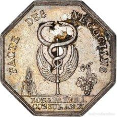 Medallas históricas: [#971307] FRANCIA, TOKEN, BANQUES, COMPTOIR COMMERCIAL, 1802, MBC, PLATA. Lote 295460828