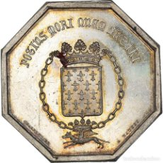 Medallas históricas: [#971333] FRANCIA, TOKEN, ASSURANCES MUTUELLES CONTRE L'INCENDIE DE NANTES, 1842, EBC+. Lote 295464413