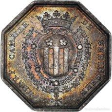 Medallas históricas: [#971329] FRANCIA, TOKEN, HENRY-CAMILLE DE BERINGHEN, ÉCUYER DU ROI LOUIS XV, BOURGOGNE. Lote 295464568