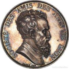 Medallas históricas: [#971326] FRANCIA, TOKEN, SOCIÉTÉ DES AMIS DES ARTS DE LYON, 1839, BARRE, EBC+, PLATA. Lote 295464633