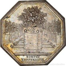 Medallas históricas: [#971309] FRANCIA, TOKEN, ROYAL, ORANGERIE DU ROI, EBC, PLATA, FEUARDENT:6329. Lote 295465013
