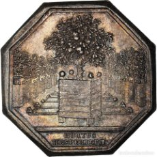 Medallas históricas: [#971308] FRANCIA, TOKEN, ROYAL, ORANGERIE DU ROI, EBC, PLATA, FEUARDENT:6329. Lote 295465018