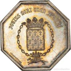 Medallas históricas: [#971334] FRANCIA, TOKEN, ASSURANCES MUTUELLES CONTRE L'INCENDIE DE NANTES, 1842, EBC+. Lote 295465093