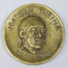 Medallas históricas: MEDALLA. JOAQUIN TURINA. PATRONATO MUNICIPAL DE MUSICA. SEVILLA. 1982. Lote 295740738