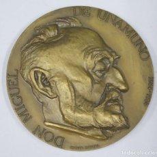 Medallas históricas: MEDALLA. MIGUEL DE UNAMINO. JOAQUIM CORREIA. Lote 295742458