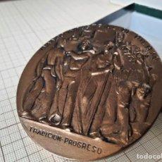 Medallas históricas: MEDALLA CONMEMORATIVA BANCO INDUSTRIAL BILBAO. Lote 296727328