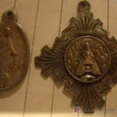 Medallas temáticas: 2 MEDALLAS RELIGIOSAS. Lote 13218451