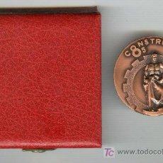 Medallas temáticas: MEDALLA CONSTRUMAT 85 SALON INTERNACIONAL CONSTRUCCIÓN BARCELONA EN CAJA ORIGINAL. Lote 26970641