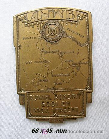 MEDALLA HOLANDESA 1931 CAMPISMO ANWB (Numismática - Medallería - Temática)