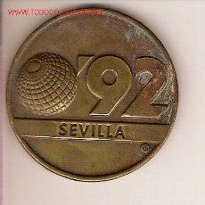 Medallas temáticas: MEDALLA CONMEMORATIVA DE LA EXPO'92 DE SEVILLA.. Lote 18059695
