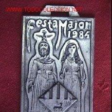 Medallas temáticas: MEDALLA FESTA MAJOR MATADEPERA 1984. Lote 159926145