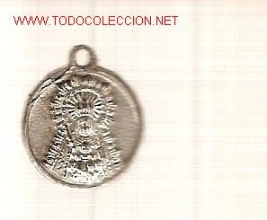 PEQUEÑA MEDALLITA DE NTRA. SEÑORA DEL VALLE - PATRONA DE ECIJA, SEVILLA.. (Numismática - Medallería - Temática)