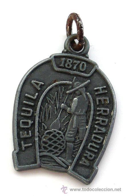 MEDALLA TEQUILA HERRADURA - 1870 (Numismática - Medallería - Temática)