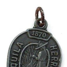 Medallas temáticas: MEDALLA TEQUILA HERRADURA - 1870. Lote 24217483
