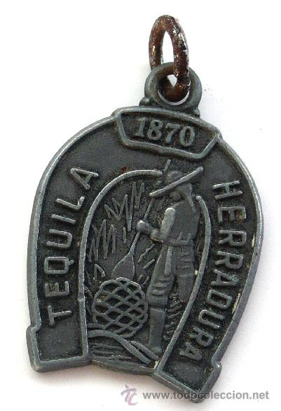 Medallas temáticas: MEDALLA TEQUILA HERRADURA - 1870 - Foto 2 - 24217483