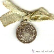 Medallas temáticas: MEDALLA DE PLATA PREMIO A LA APLICACIÓN DIÁMETRO: 20 MM.. Lote 27526410