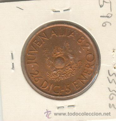 PRECIOSA MEDALLA JUVENALIA JUVENTUD RELIGIÓN 1982 DIÁMETRO: 30 MM. (Numismática - Medallería - Temática)