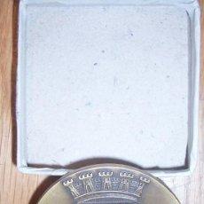 Medallas temáticas: DOMUS MUNICIPALIS MUNICIPIO DE BRAGANCA, 6 CMS. Lote 18473442