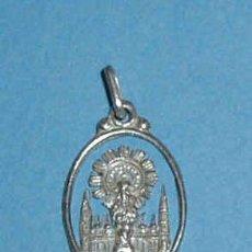 Medallas temáticas: MEDALLA RELIGIOSA VIRGEN DEL PILAR. REVERSO CON MARCA DE CONTRASTE. ALTURA 2,3 CM. Lote 23674011