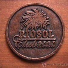 Medallas temáticas: MEDALLA RIOSOL 2000. Lote 14073243