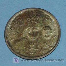 Medallas temáticas: MEDALLA DE LA VIRGEN DE LOS DESAMPARADOS 1992. DIAMETRO 25 MM PESO 3,75 GR. Lote 26399695