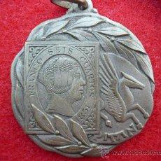 Medallas temáticas: BONITA MEDALLA II EXPOSICION LOCAL DE FILATELIA TEMATICA, TARRASSA, 25 AL 29 ENERO 1958. Lote 15598048