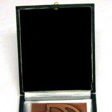 Medallas temáticas: PLACA MEDALLA XXVII CONCURSO NACIONAL DE FORMACIÓN PROFESIONAL INDUSTRIAL Y ARTESANA 1973. Lote 17074061