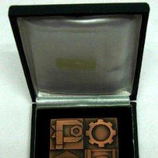 Medallas temáticas: PLACA MEDALLA XXVI CONCURSO NACIONAL DE FORMACIÓN PROFESIONAL INDUSTRIAL Y ARTESANA 1972. Lote 17074344