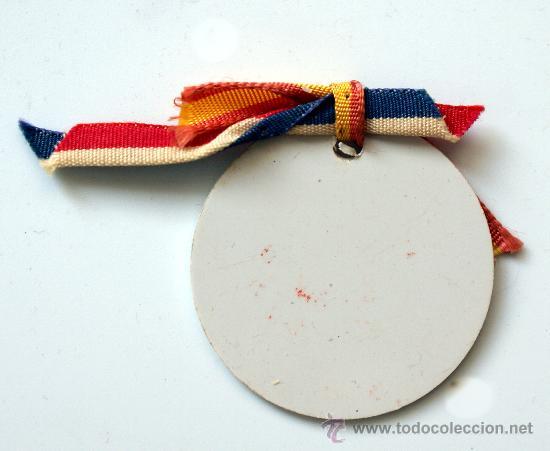 Medallas temáticas: MEDALLA CENTENAIRE ÉCOLES FRANÇAISES BARCELONE - 1858 - 1958 - Foto 2 - 27058978