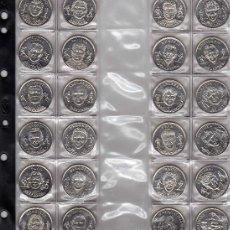 Medallas temáticas: COLECCION.....OFICIAL......MEDALLAS......SELECCION.....FUTBOL......24 MEDALLAS. Lote 17957304