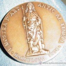 Medallas temáticas: MEDALLA DE ANTIQUARIOS Y LIBRETEROS I NUMISMATICOS (BARRIO GOTICO) BARCELONA. Lote 27376590