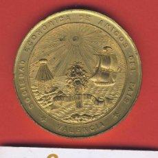 Medallas temáticas - MEDALLA-SOCIEDAD ECONOMICA DE AMIGOS DE PAIS-VALENCIA-EXPOSICION REGIONAL-1883-64 mm. - 19306430