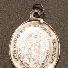 Medallas temáticas: MEDALLA RELIGIOSA INMACULADA CONCEPCION SANTUARIO DE LOURDES. Lote 19955259